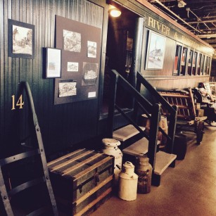 Inside Maine Narrow Gauge Railroad Museum