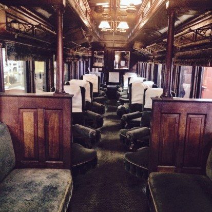 Phillips and Rangeley Parlor Car from 1901