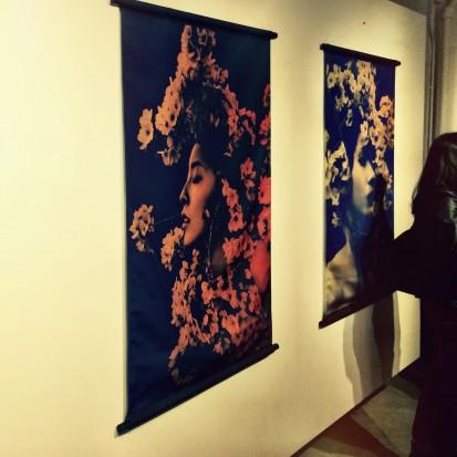 Sakura series by Sayaka Maruyama at the Plus 81 Gallery