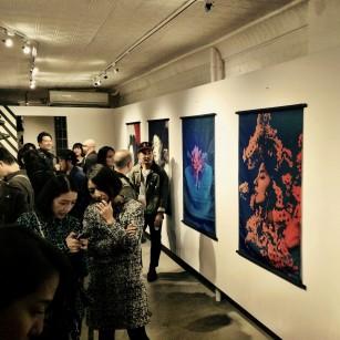 Sayaka Maruyama at the Plus 81 Gallery