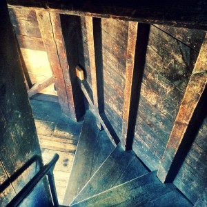 Portland Observatory stairs
