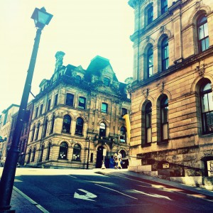 The architecture of Saint John, New Brunswick