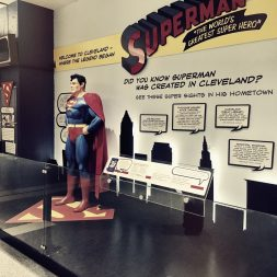 Permanent Superman exhibit At CLE Airport