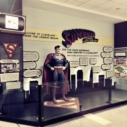 Permanent Superman exhibit