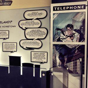 Key locations for Superman creators