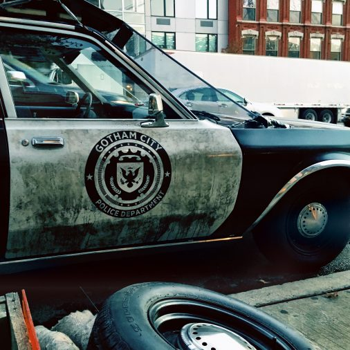 Gotham City Police Department car