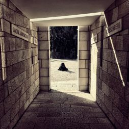 The lonely path Holocaust Memorial Miami Beach
