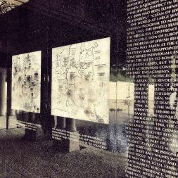 The map Holocaust Memorial Miami Beach