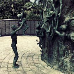 Sculptures of those who suffered during the Holocaust 1