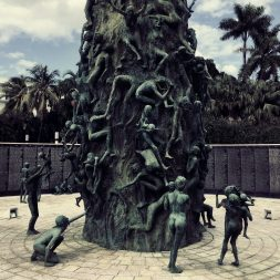 Sculptures of those who suffered during the Holocaust 2