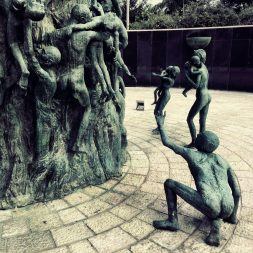 Sculptures of those who suffered during the Holocaust 3
